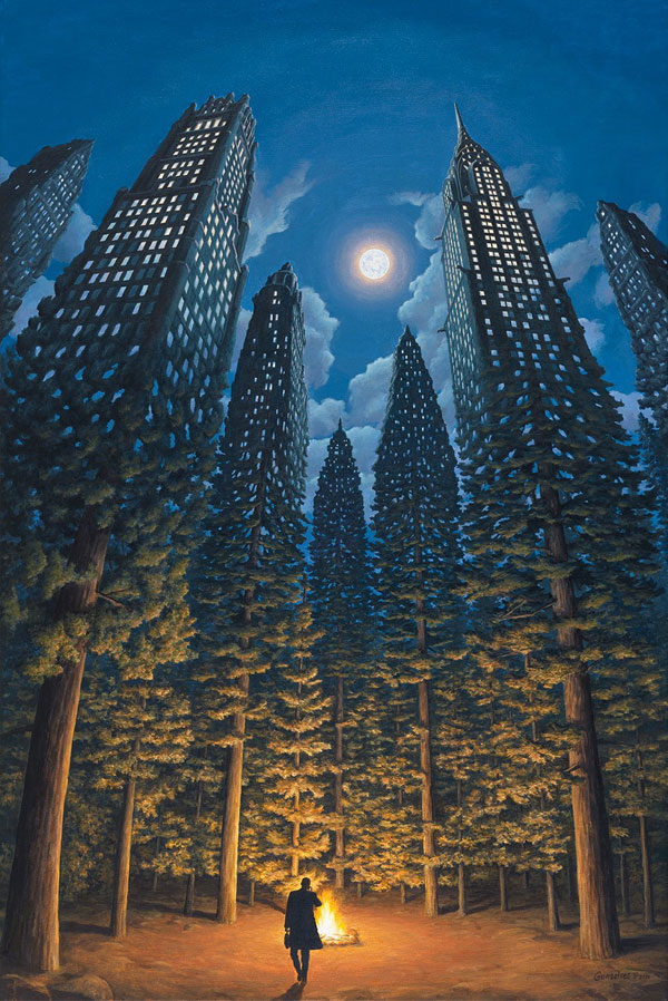 surreal paintings by rob gonsalves 7 12 Mind Bending Magic Realism Paintings by Rob Gonsalves