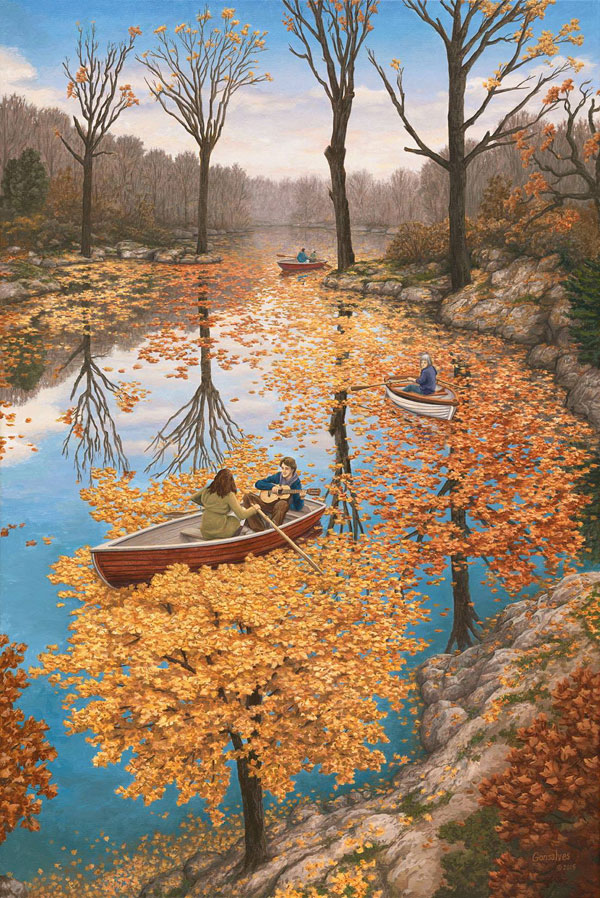 surreal paintings by rob gonsalves 8 12 Mind Bending Magic Realism Paintings by Rob Gonsalves