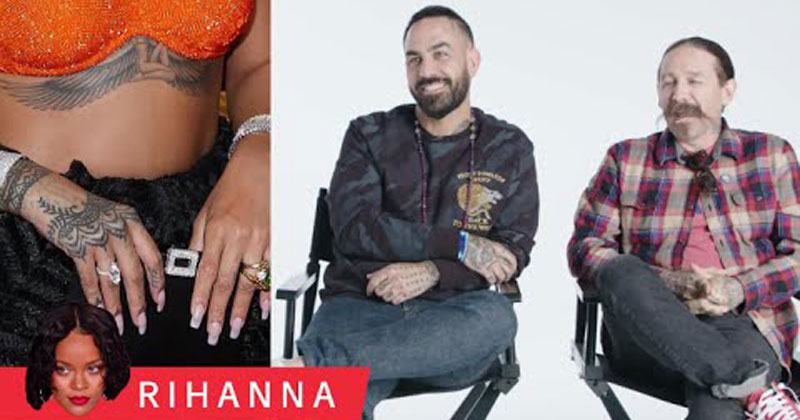 Tattoo Artists Critique Rihanna, Justin Bieber, and More Celebrity Tattoos