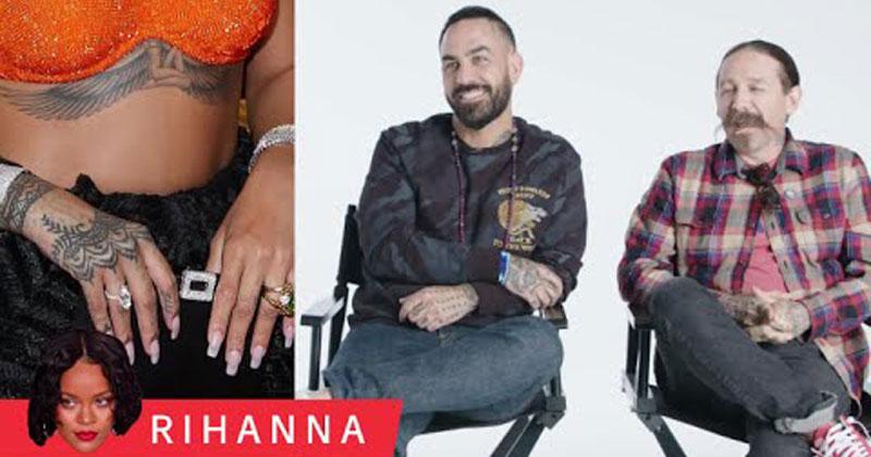 Tattoo Artists Critique Rihanna, Justin Bieber, and More CelebrityTattoos