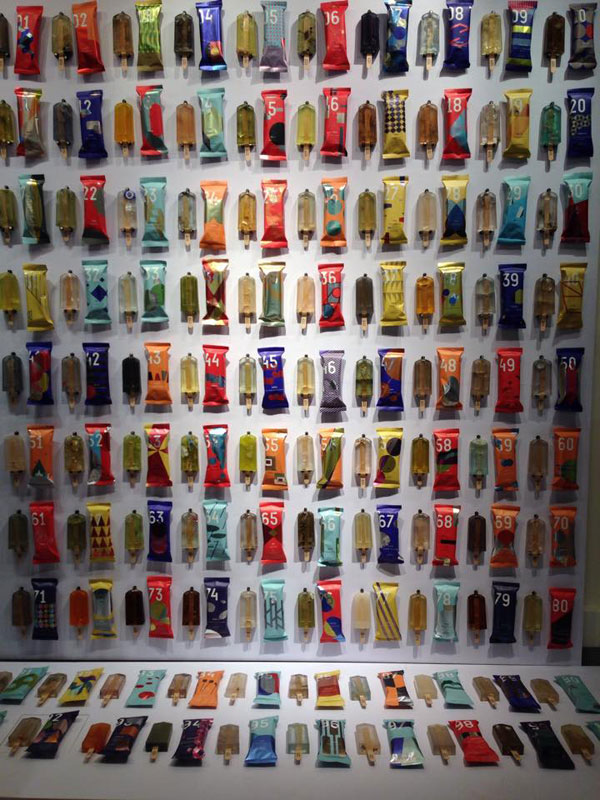 these art students made 100 popsicles from polluted waterways around taiwan 2 These Art Students Made 100 Popsicles from Polluted Waterways Around Taiwan
