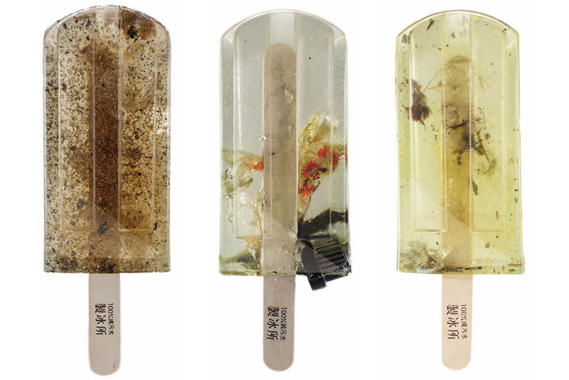 these art students made 100 popsicles from polluted waterways around taiwan 5 These Art Students Made 100 Popsicles from Polluted Waterways Around Taiwan