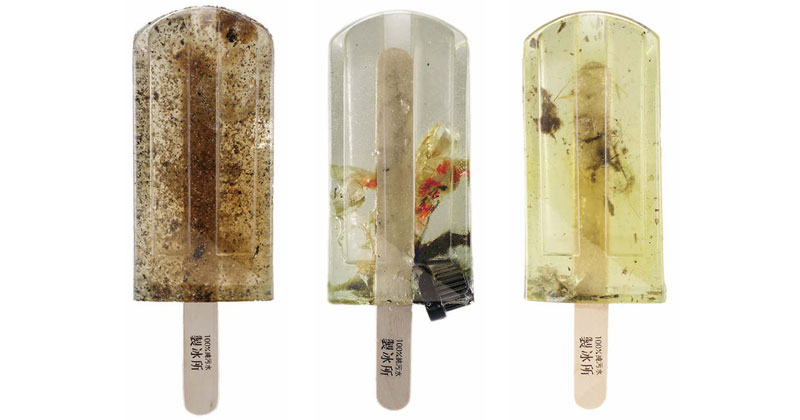 These Art Students Made 100 Popsicles from Polluted Waterways AroundTaiwan