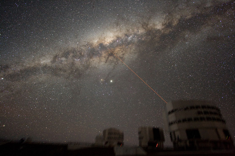eso vlt laser phot 33a 07 10 Truth Bombs to Drop at your Next Dinner Party