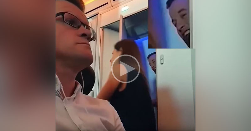 "Virgin Atlantic Passenger's Vid of ""Smile High Club"" Goes Viral"