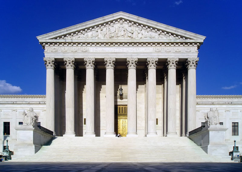 There's a Basketball Net Atop the Supreme Court Dubbed the 'Highest Court in the Land'