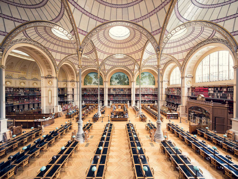 Palaces of Self-Discovery: Amazing Libraries Across Europe by ThibaudPoirier
