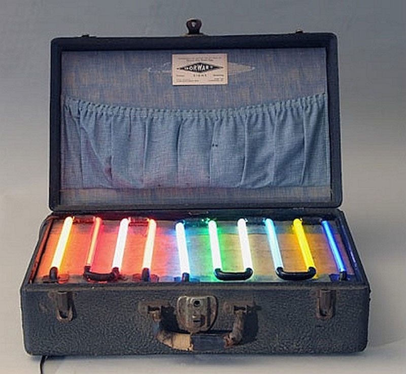 neon salesman sample case from 1930s 5 Picture of the Day: Neon Salesmans Sample Case from the 1930s