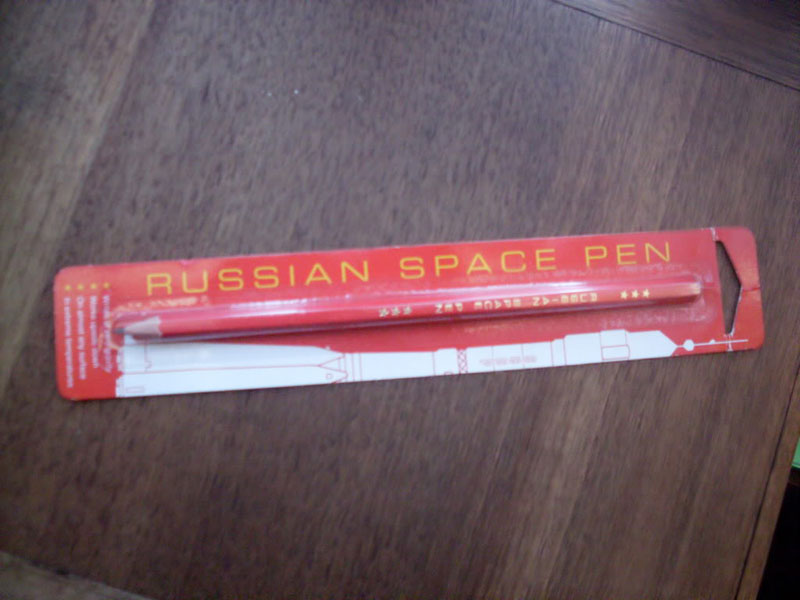 russian space pen That Story About the Million Dollar US Space Pen and Russian Pencil is BS