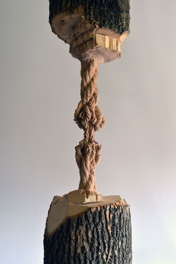 This was carved from a single ash tree trunk «twistedsifter