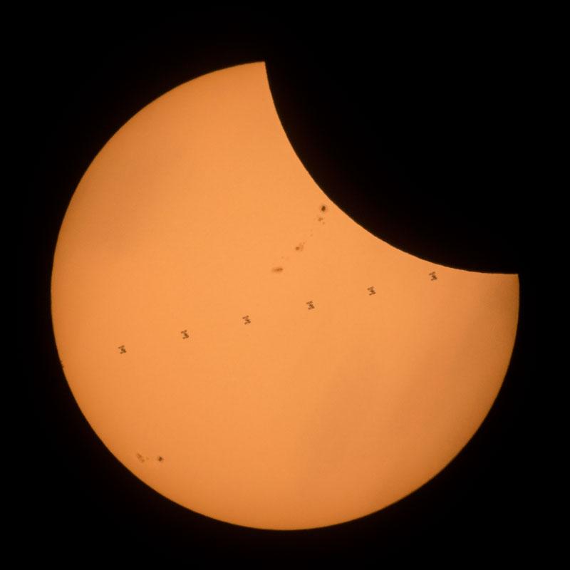 2017 eclipse photos nasa 4 NASA Has Already Released An Epic Gallery of Eclipse Photos Including an ISS Photobomb