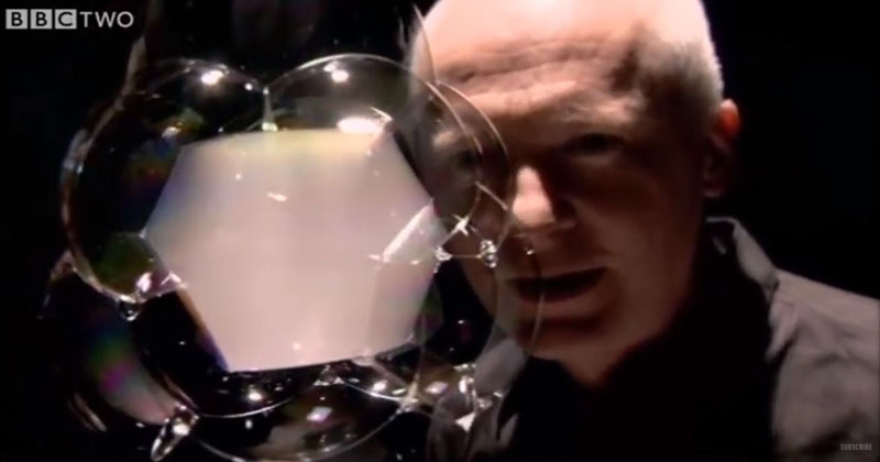 An Elegant Lesson in Physics Told Through Blowing Bubbles