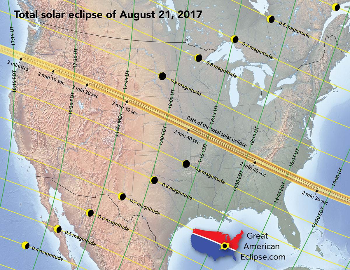 eclipse2017 usa Everything You Need to Know About the Most Anticipated Solar Eclipse in US History