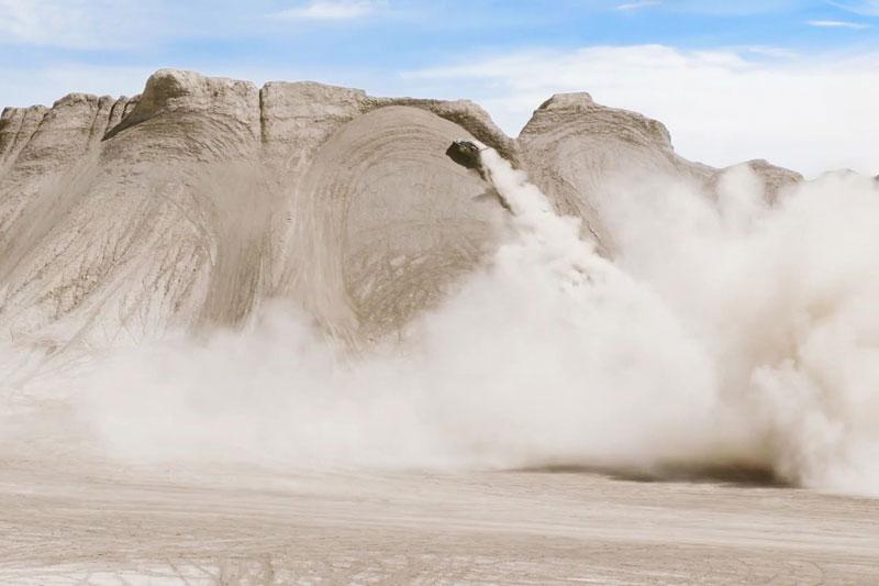 ken block gymkhana sand dunes utah terrakhana 10 Ken Block Took His Gymkhana Series to the Sand Dunes of Utah and Its Awesome