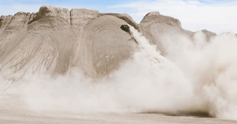 Ken Block Took His Gymkhana Series to the Sand Dunes of Utah and It's Awesome