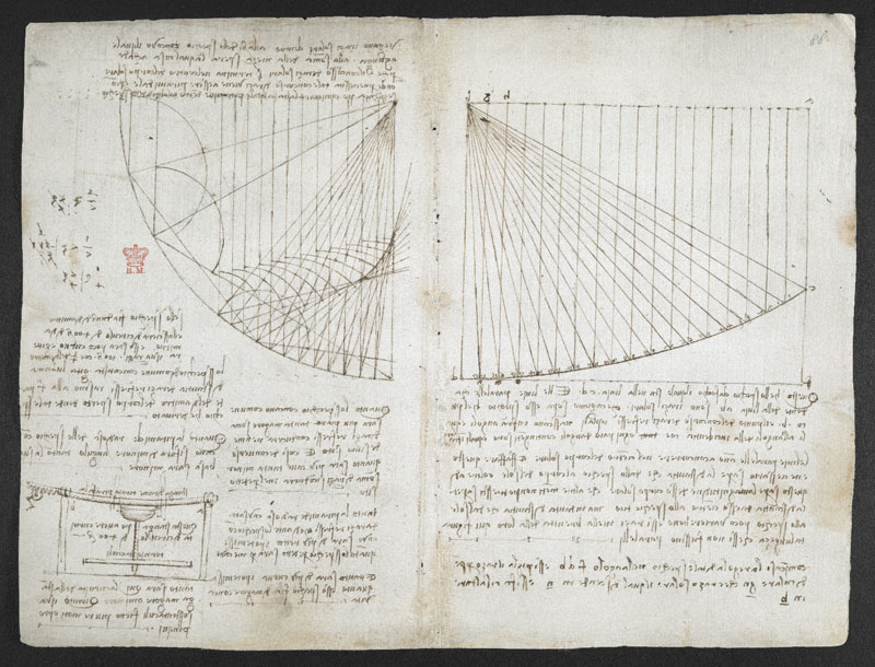 leonardo da vinci notebook 1 The British Library Has Fully Digitized 570 Pages of Leonardo da Vincis Visionary Notebooks