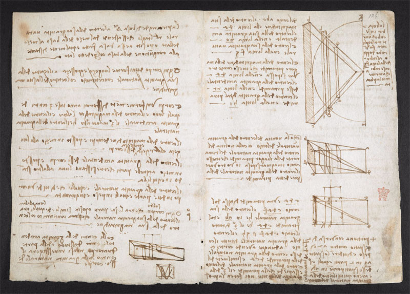 leonardo da vinci notebook 11 The British Library Has Fully Digitized 570 Pages of Leonardo da Vincis Visionary Notebooks