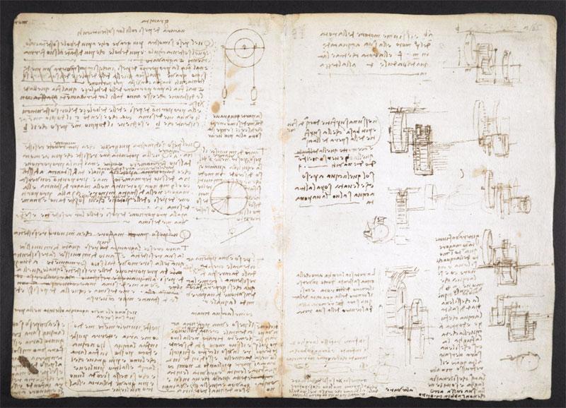 leonardo da vinci notebook 15 The British Library Has Fully Digitized 570 Pages of Leonardo da Vincis Visionary Notebooks