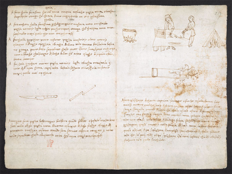 leonardo da vinci notebook 18 The British Library Has Fully Digitized 570 Pages of Leonardo da Vincis Visionary Notebooks