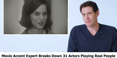 Movie Accent Expert Breaks Down 31 Actors Playing Real People