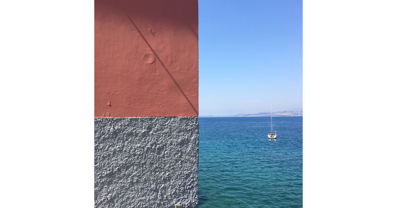 A Single Photo Perfectly Framed Into 4 Distinct Quadrants