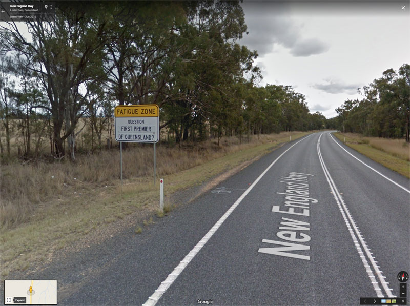 trivia road signs australia 5 There are Roads in Australia that are So Boring they Have Trivia Signs to Keep Drivers Alert
