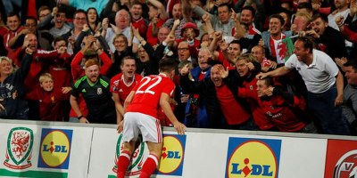 17-Year-Old Sub Scores Game Winner for Wales Right After Crowd Sings NationalAnthem