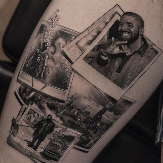 black and white tattoos look like photos printed on skin by inal bersekov 2 These Black and White Tattoos Look Like Photos Printed on Skin