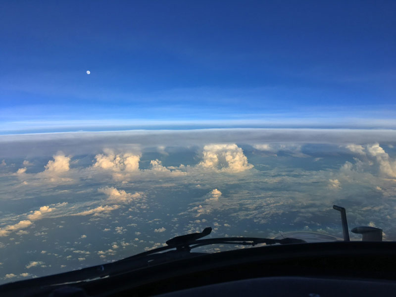 eye of irma photos noaa 1 NOAA Hurricane Hunters Fly Into the Eyes of Storms to Gather Lifesaving Data. This is Irma