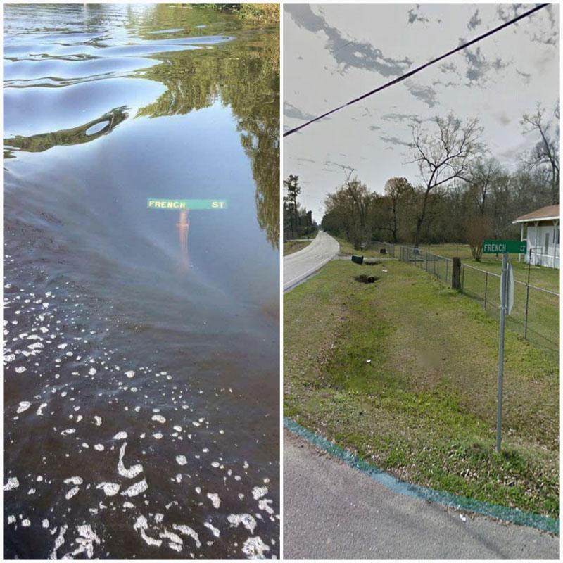 french street lumberton texas hurricane harvey 1 French Street, Lumberton, TX 9/3/17