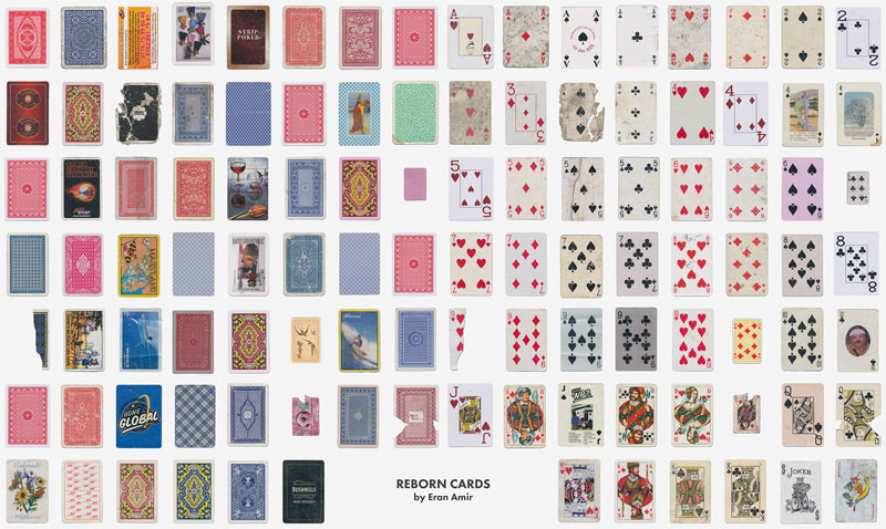 guy completes full playing card deck from randomly found cards around the world 8 Guy Completes Full Playing Card Deck from Randomly Found Cards Around the World