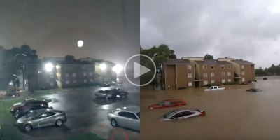 Timelapse Shows Devastating Speed of Houston Flooding from HurricaneHarvey