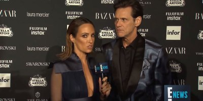 Jim Carrey Becomes 1st Person to Ever Make a Fashion Week Red Carpet Interview Entertaining
