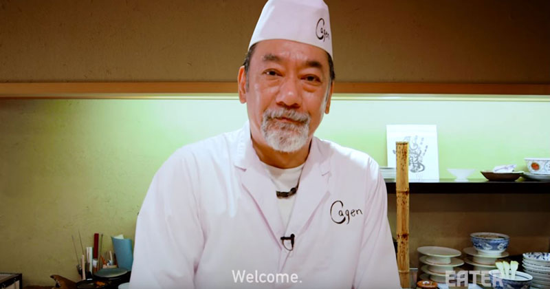 Behind-the-Scenes with a Michelin-Starred Sushi Chef Preparing and Serving Omakase