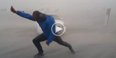 Mad Meteorologist Ventures Into Hurricane Irma's Eyewall to Measure Its Wind Speed