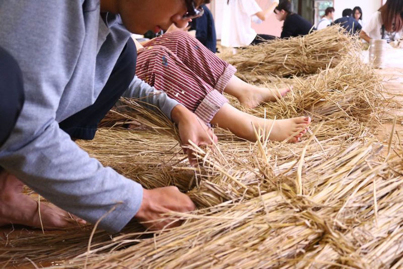 giant straw animals japan wara art festival 2017 12 Every Year Japanese Art Students Get Together and Make Giant Animals Out of Straw