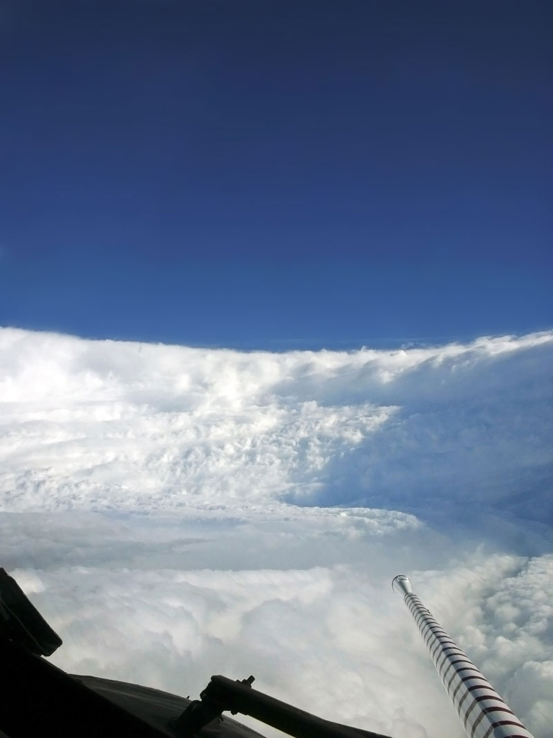 in the eye of the storm hurricane eyewall of katrina Picture of the Day: Inside the Eye of the Storm