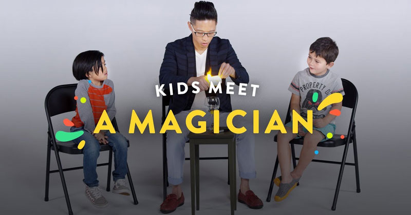 Kids Meet a Magician