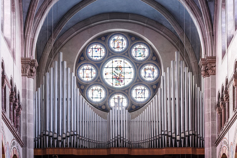 pipes by robert gotzfried 13 An Ongoing Photo Series Dedicated to the Beautiful Designs of Organ Pipes
