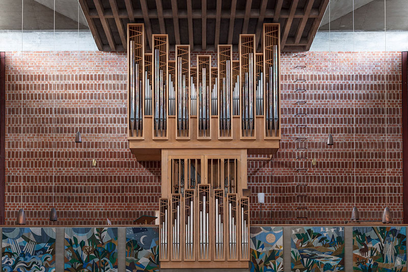 pipes by robert gotzfried 4 An Ongoing Photo Series Dedicated to the Beautiful Designs of Organ Pipes