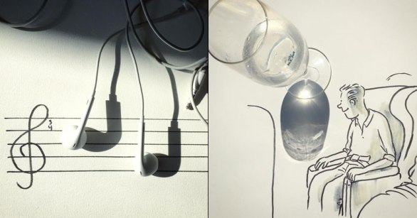 Artist Casts Shadows and Doodles on the Results (21 Photos) 1