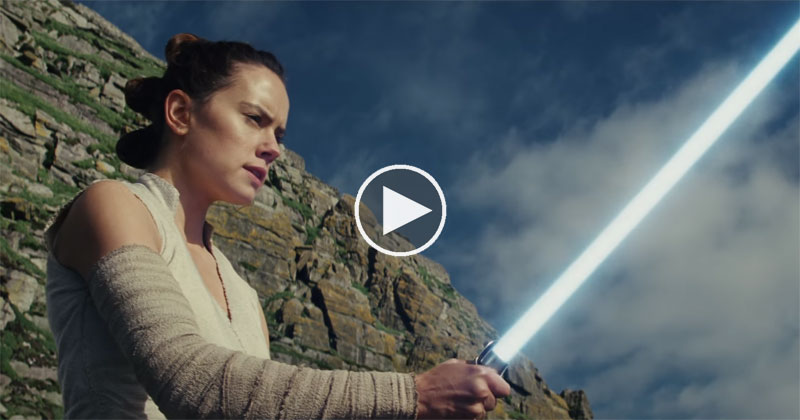 Star Wars Just Released A New 2 Minute Trailer For The Last Jedi!