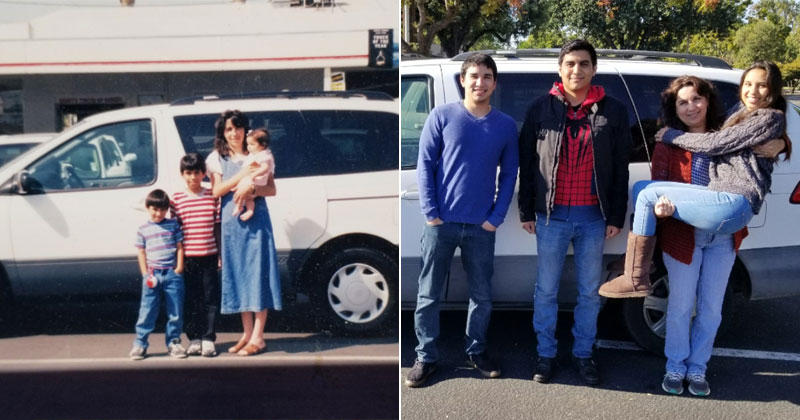 """The Day We Bought the Family Van (1999) to the Day We Sold It (2017)"""