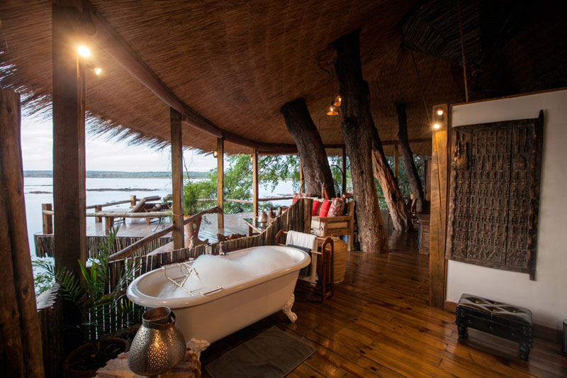 tongabezi lodge tree house room zambia 2 The Tree House at this Victoria Falls Safari Lodge Looks Beautiful