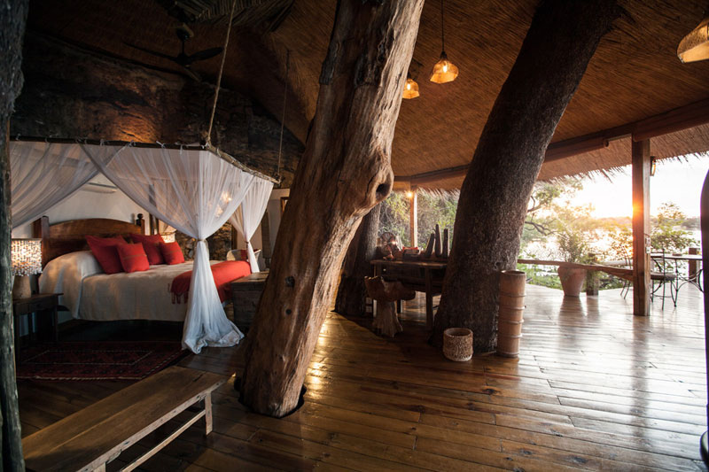 tongabezi lodge tree house room zambia 3 The Tree House at this Victoria Falls Safari Lodge Looks Beautiful