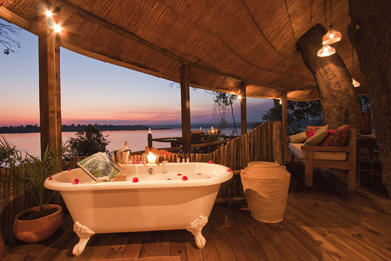 tongabezi lodge tree house room zambia 6 the tree house at this victoria falls safari lodge