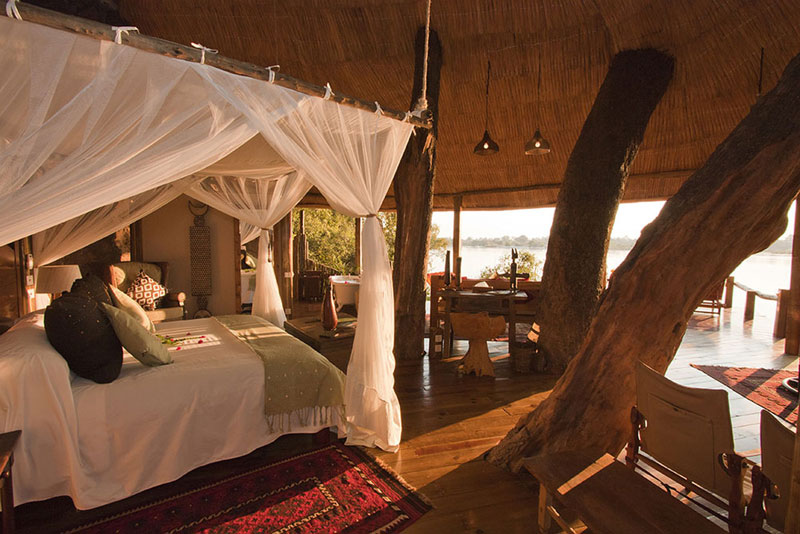 tongabezi lodge tree house room zambia 8 The Tree House at this Victoria Falls Safari Lodge Looks Beautiful
