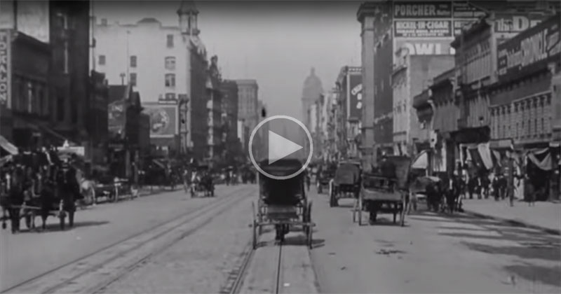 Technology news 5 oct 2017 15 minute news know the news rare video footage from 1906 fandeluxe Image collections