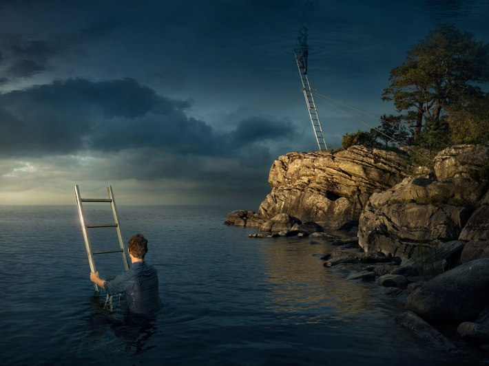 all above the sky by erik johansson All Above the Sky