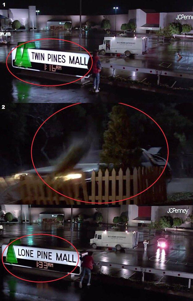 back to the future twin pines mall easter egg 10 Obscure Movie Details You Probably Missed or Never Knew